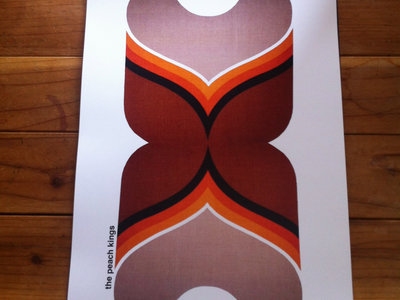 Limited Edition Textile Print (Brown)