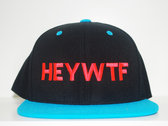 HEY WTF Exclusive Snapback (Ltd., First Run!)