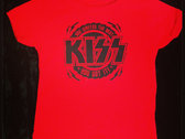 KISS - Red Logo Toddler T