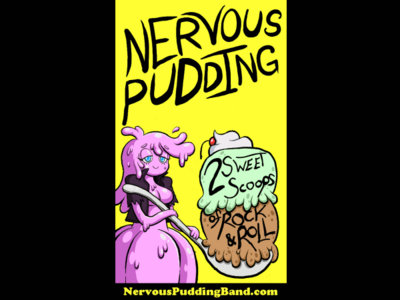 Nervous Pudding Stickers main photo