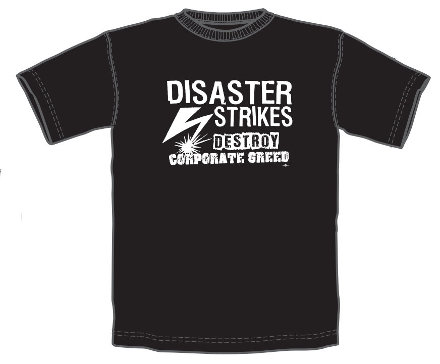 Destroy Corporate Greed T-Shirt