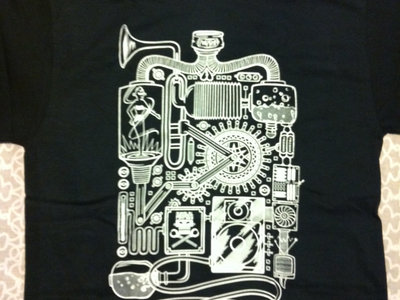 $5 Blowout - PIMPBOT skeleton shirt (Men's Small Only)