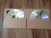 Limited edition double cd-r in recycled gate fold card sleeve
