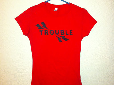 Le Trouble Bolt Design T-Shirt