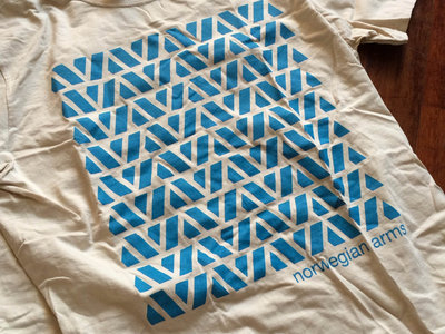 LAST FEW - Tessellation Shirt - Blue on Tan