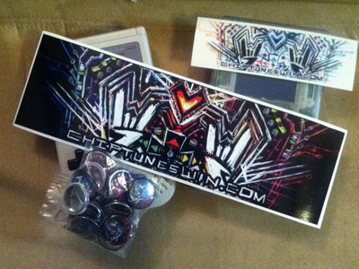 Sticker & Button Bundle of WIN - Ver.2