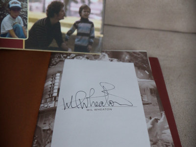 Personally Autographed, Numbered Hardback (Only 20 Available). main photo