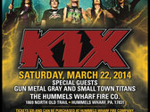Will Call Ticket to Kix w/ STT & Gun Metal Grey @ Hummels Wharf Fire Co. - Hummels Wharf, PA
