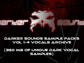 Darker Sounds Sample Packs Vol 1-4 Vocals Archive