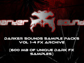 Darker Sounds Sample Packs Vol 1-4 FX Archive
