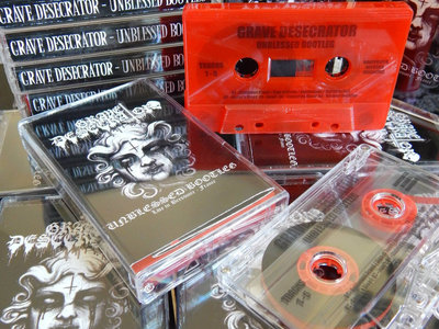 DIE HARD CASSETTE VERSION: Clear Evil or Blood Red