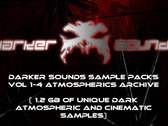 Darker Sounds Sample Packs Vol 1-4 Atmospherics Archive