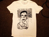'They Kicked You In' Noah Brown Explotation T-Shirt