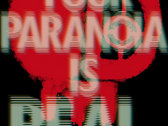 'PARANOIA' Oversized Sticker
