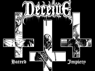 DECEIVE - HATRED PROPHECY IMPIETY SHIRT main photo