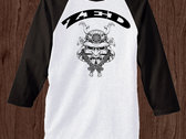 Japanese War Mask Baseball Tee