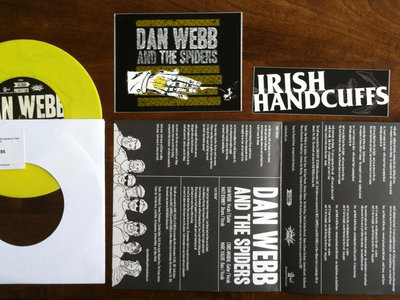 Dan Webb and the Spiders / Irish Handcuffs Split 7