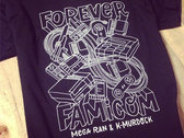 Forever Famicom Tee (White on Black)