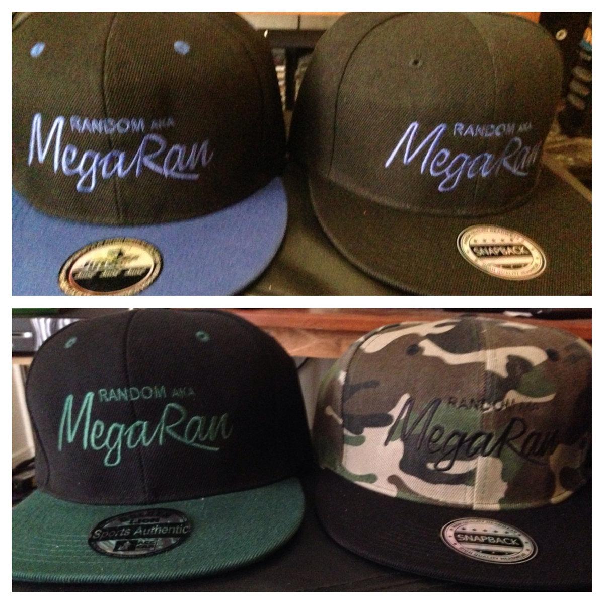 mega ran snapback cap hat new era starter