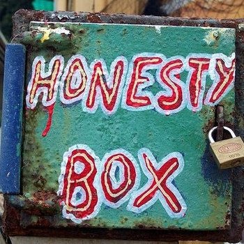 The Honesty Box cover art