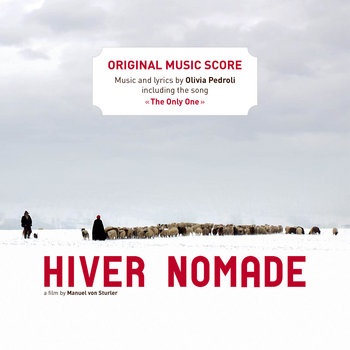 """Hiver Nomade"" (""Winter Nomads"") -- Original music score -- Full album cover art"