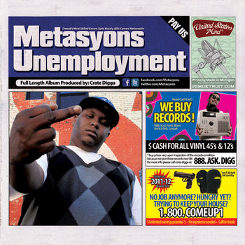 Unemployment LP cover art