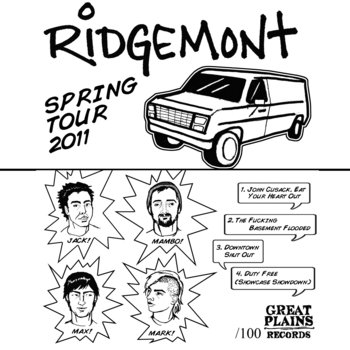 Spring Tour 2011 Tape cover art