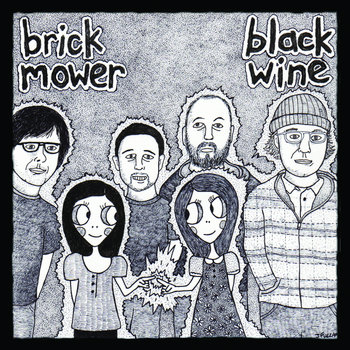 split 7'' w/ Black Wine cover art