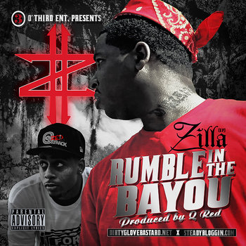 Rumble In The Bayou (EP) cover art