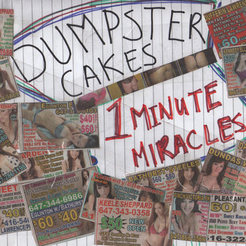 DUMPSTER CAKES cover art