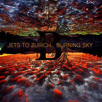 Burning Sky EP cover art