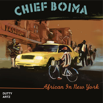 African In New York E.P. cover art