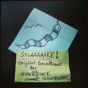 SNAAAAAKE! - Original Soundtrack cover art