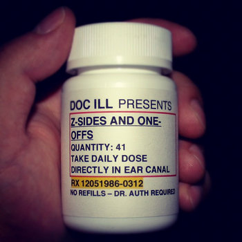 Doc ILL Presents: z-sides and one-offs cover art