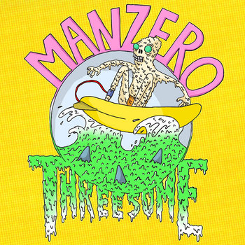 Man Zero / Threesome Split Tape cover art