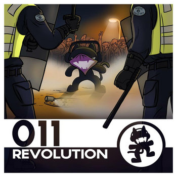 Monstercat 011 - Revolution cover art
