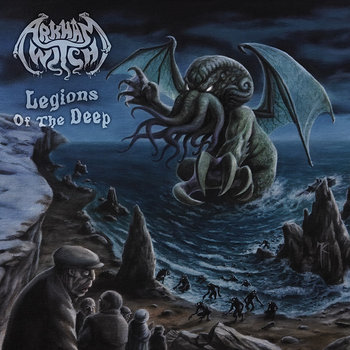 "ARKHAM WITCH ""Legions of the Deep"" cover art"