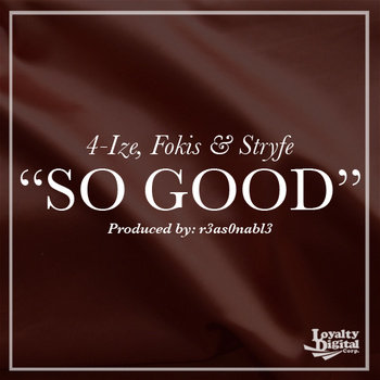 SO GOOD - Single cover art
