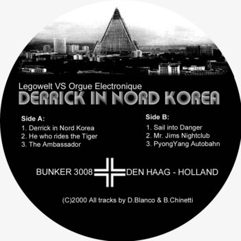 (Bunker 3008) Derrick In Nord Korea (2000) cover art