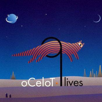 OCELOT - 9 lives (Zaikadelic Records) cover art