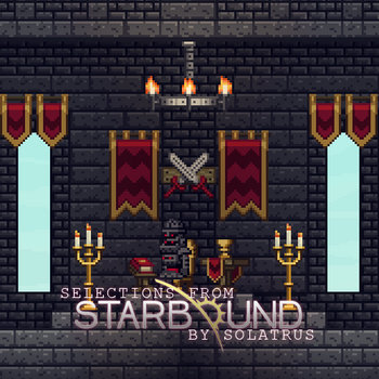 Selections from Starbound cover art