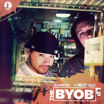 The BYOB LP cover art