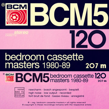 Bedroom Cassette Masters 1980-89 Volume Five cover art