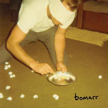 "Bomarr/Clovis Heald - Split (Unreleased  7"") cover art"