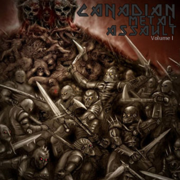 Canadian Metal Assault Vol I cover art