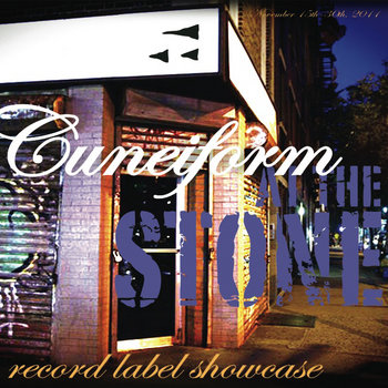 Cuneiform at The Stone Sampler cover art