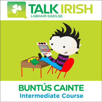 Buntús Cainte Intermediate MP3 Course cover art