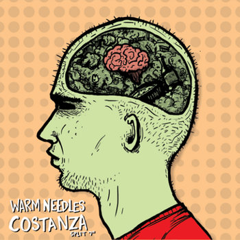 "Warm Needles/Costanza ""Split"" EP cover art"