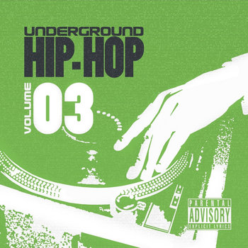 URBNET - Underground Hip-Hop, Vol. 3 cover art