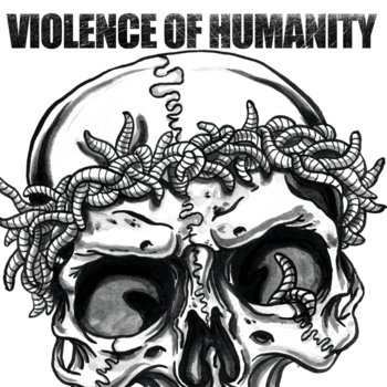 Sorrower / Violence of Humanity Split 7&quot; cover art